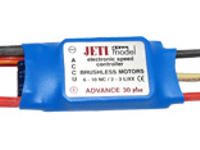 Jeti ADVANCE 30 BEC plus 6-10NiXx, 2-3Lipo - Brushless Regler