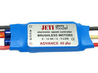 Jeti ADVANCE 40 BEC plus 6-12NiXx, 2-3Lipo - Brushless Regler